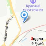 Д-100 на карте Санкт-Петербурга