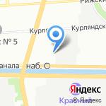 Зеленый Хутор на карте Санкт-Петербурга