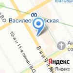 Х-асt на карте Санкт-Петербурга