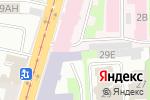 Схема проезда до компании Акроспорт в Санкт-Петербурге
