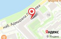 Схема проезда до компании Объединение Бригантина в Санкт-Петербурге