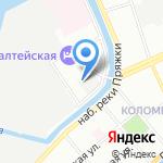 Автопремиум на карте Санкт-Петербурга