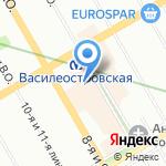 ЧайнаДом на карте Санкт-Петербурга