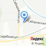 Авто100! на карте Санкт-Петербурга