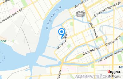 Местоположение на карте пункта техосмотра по адресу г Санкт-Петербург, пер Матисов, д 4 литер а