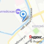 АУРА СПб на карте Санкт-Петербурга