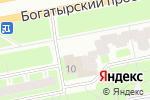 Схема проезда до компании Фармакор в Санкт-Петербурге