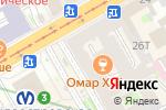 Схема проезда до компании Шоколад в Санкт-Петербурге