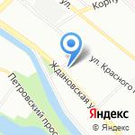Союз-строй на карте Санкт-Петербурга