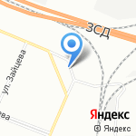 SkyWay на карте Санкт-Петербурга