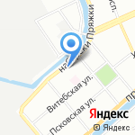 Детский сад №30 компенсирующего вида на карте Санкт-Петербурга