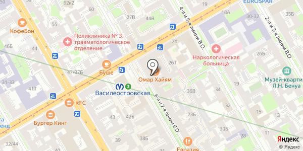 Цветория. Схема проезда в Санкт-Петербурге