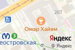 Схема проезда до компании Ketch Up Burgers в Санкт-Петербурге