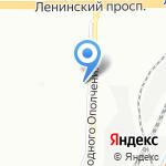 Рабак на карте Санкт-Петербурга