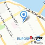 Ольга на карте Санкт-Петербурга