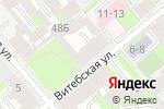 Схема проезда до компании Адвокат Дунаевский С.А. в Санкт-Петербурге