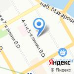 ИНДЕКС-НЕВА на карте Санкт-Петербурга