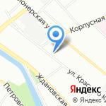 СевенТест на карте Санкт-Петербурга