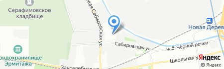 БСК на карте Санкт-Петербурга