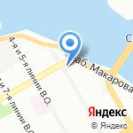 Локс Опен на карте Санкт-Петербурга