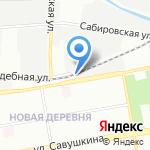 Фирма по продаже автоэмалей из Японии на карте Санкт-Петербурга