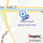 Производство №5-КТ на карте Санкт-Петербурга