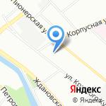 АйСиЮ на карте Санкт-Петербурга