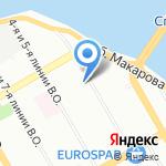 Алекс на карте Санкт-Петербурга