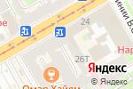Схема проезда до компании Салон-ателье в Санкт-Петербурге