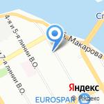 L Bar на карте Санкт-Петербурга