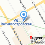 Травяная лавка на карте Санкт-Петербурга