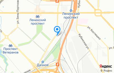 Местоположение на карте пункта техосмотра по адресу г Санкт-Петербург, пр-кт Народного Ополчения, д 22