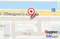 Схема проезда до компании Партизан Медиа в Санкт-Петербурге