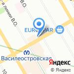 Mascotte на карте Санкт-Петербурга