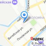 Поликлиника №27 на карте Санкт-Петербурга