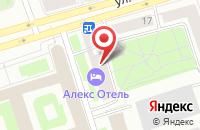 Схема проезда до компании Энергия в Санкт-Петербурге