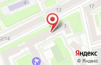 Схема проезда до компании Невская Нота в Санкт-Петербурге