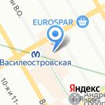 ТАЛЕР на карте Санкт-Петербурга