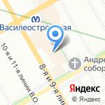 Бьютимафия на карте Санкт-Петербурга