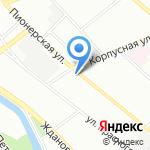 Вентра на карте Санкт-Петербурга