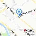 Пресс-Папье на карте Санкт-Петербурга