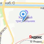 РИОН+ на карте Санкт-Петербурга