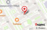 Схема проезда до компании 100 Профессий в Санкт-Петербурге