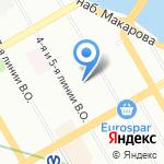Оценочно-консалтинговая компания на карте Санкт-Петербурга