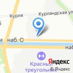 Растительные ресурсы на карте Санкт-Петербурга