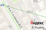 Схема проезда до компании ЭЛТОН в Санкт-Петербурге