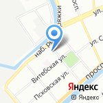 Школа №231 на карте Санкт-Петербурга