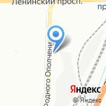 Социальная парковка на карте Санкт-Петербурга