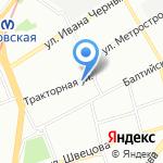 Карапуз на карте Санкт-Петербурга