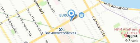 Чайная лавка на карте Санкт-Петербурга
